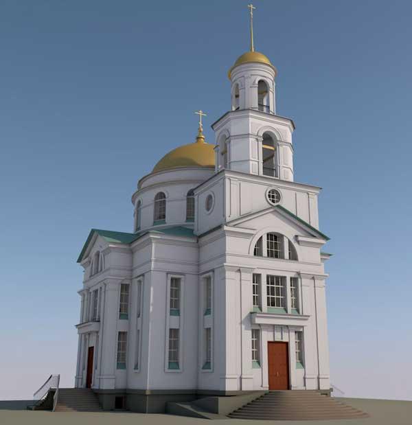 Храм блж. Ксении Петербургской г. Благовещенска (проект)