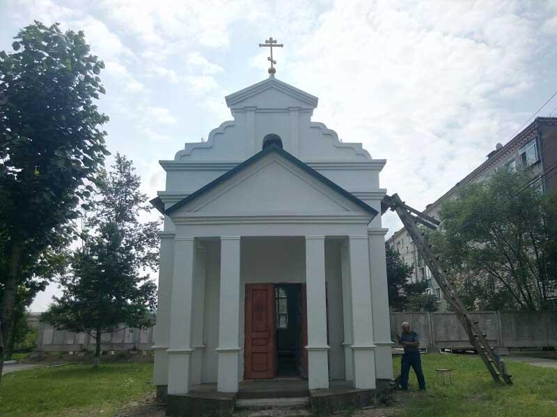 Храм мученицы Лукии Сиракузской г. Благовещенска