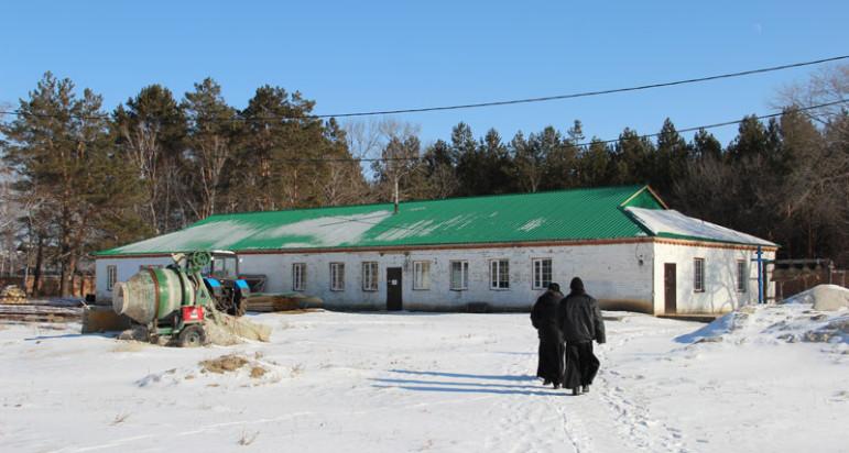 Храм прп. Александра Свирского с. Троицкое