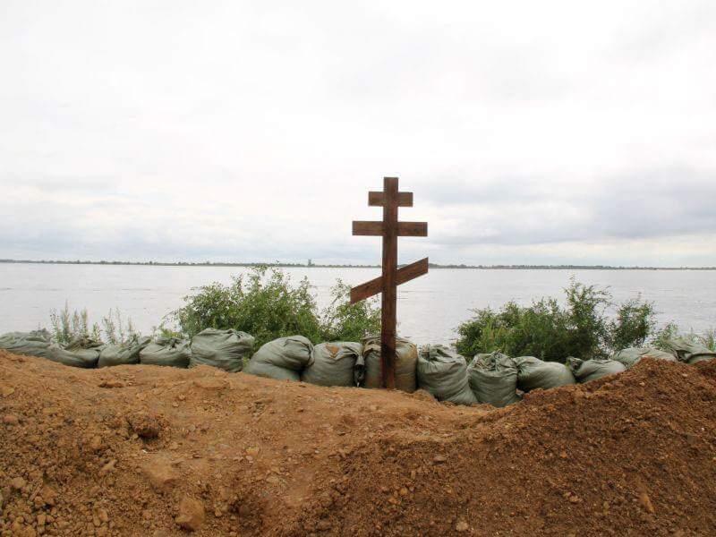 14 августа 2013, 7:00Благовещенск. Дамба на реке ЗеяФото: Екатерина Киселева, portamur.ru
