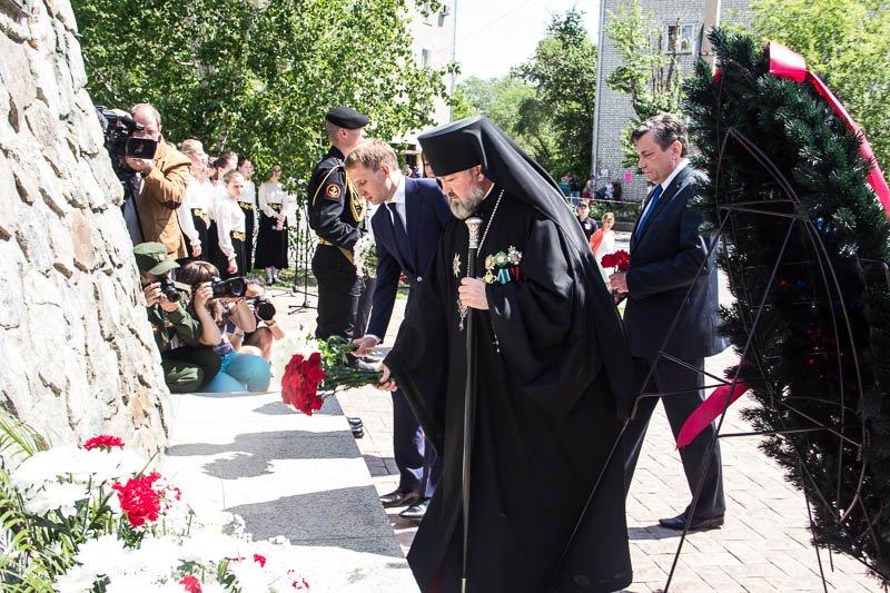 Епископ Лукиан в День города Благовещенска в 2016 году