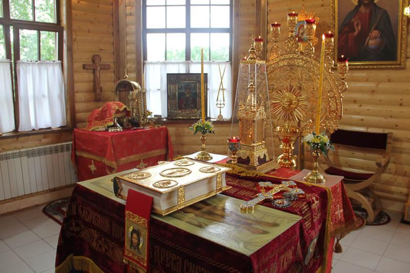 Встреча мощей блаженной Матроны Московской в Белогорске